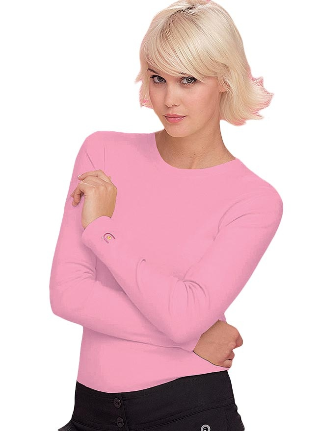 Style Code: (UR-9535)  A tee that works as hard as you do, day in and day out. It has a long sleeve, crew neck tee with Urbane daisy logo at bottom of left sleeve.