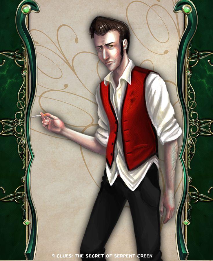 Falsen Black  #artifexmundi #tapitgames #9clues #adventure #game http://www.artifexmundi.com/page/9clues/