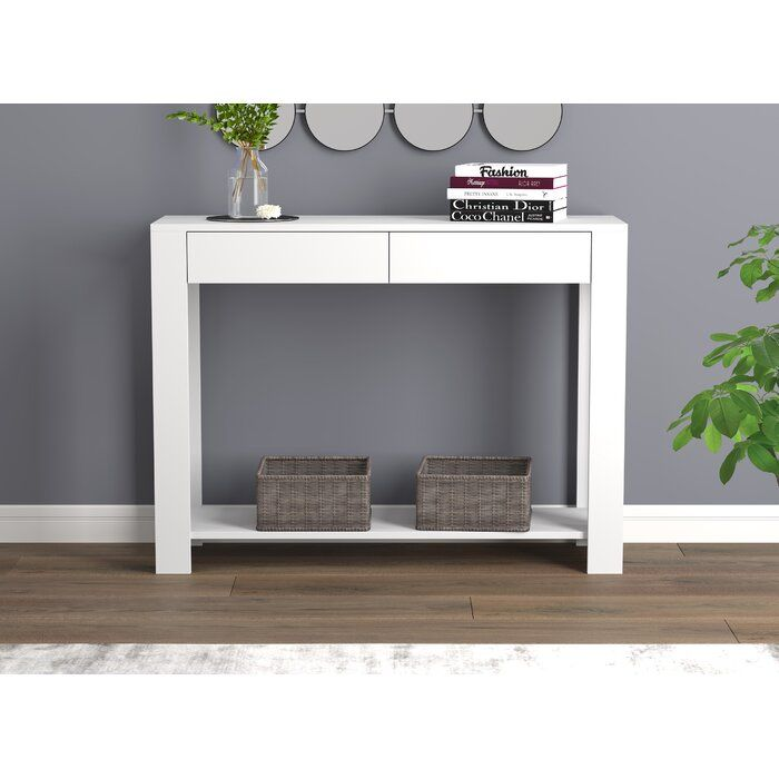 Mullikin 40 Console Table Side Table Decor Decor Living Room Spaces