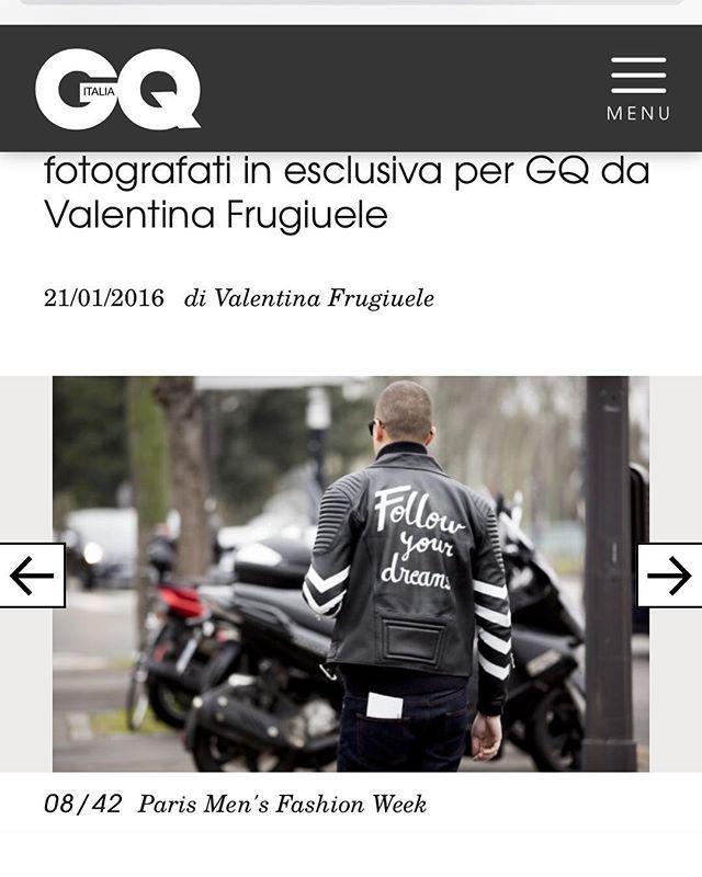 @conceptoline jacket on @gqitalia pict @fwstreetstyle thanks @andreaporro