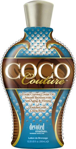 CoCo Couture  Features: - Exotic Coconut Crème Oil - Smooth Bronzers with Anti-Aging & Firming Benefits. - Enriched with Cocoa Butter - Bronzer & Accelerator  www.islandsunburst.com