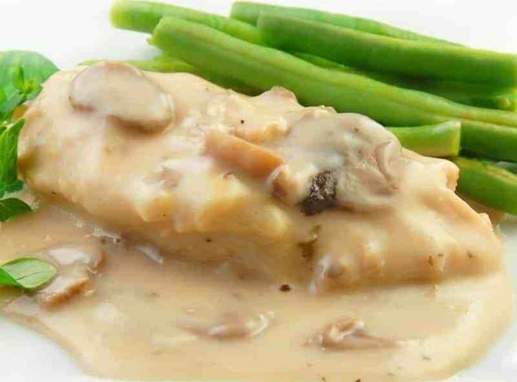 Crock Pot 5-Ingredients Chicken and Mushrooms   – 5 Ingredient Crock Pot Recipes
