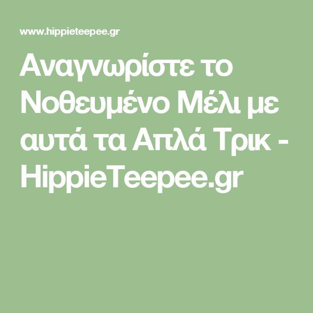 Αναγνωρίστε το Νοθευμένο Μέλι με αυτά τα Απλά Τρικ - HippieTeepee.gr