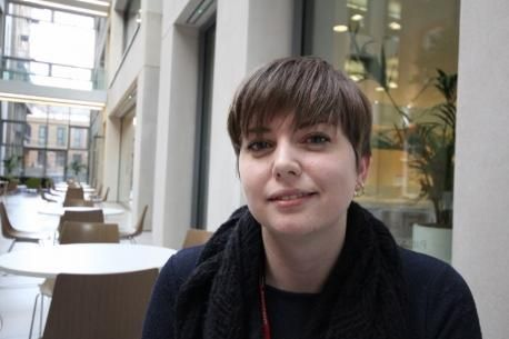 Redditch Advertiser: Laura Fitzgerald from Redditch is one of the country's top student nurses. SP
