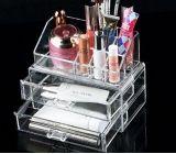 Acrylic makeup display organizer case with drawers MDK-044