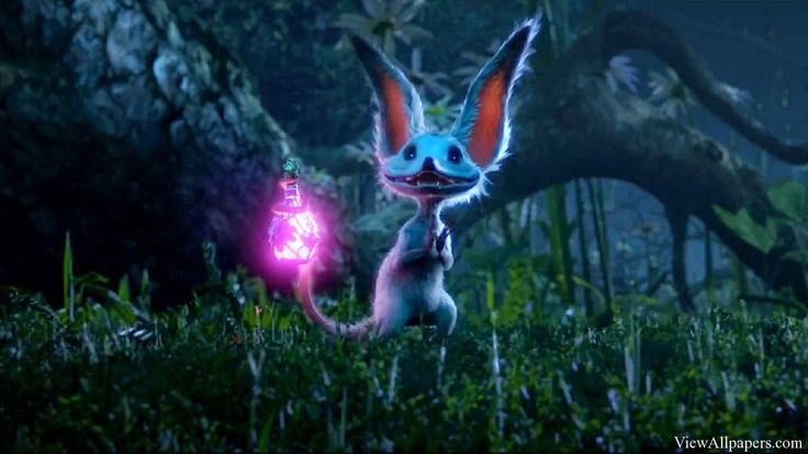 Strange Magic - goes in the line of Bubbles, Minions and all the other quirky folks that aren't really folks