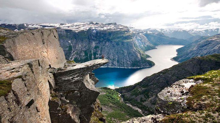 Las impresionantes vistas de los fiordos noruegos. | Foto: Terje Nesthus/ Fjord Norway
