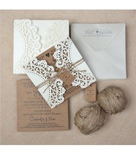 25 Best Ideas About Faire Part Dentelle On Pinterest Invitations De Mariage En Dentelle