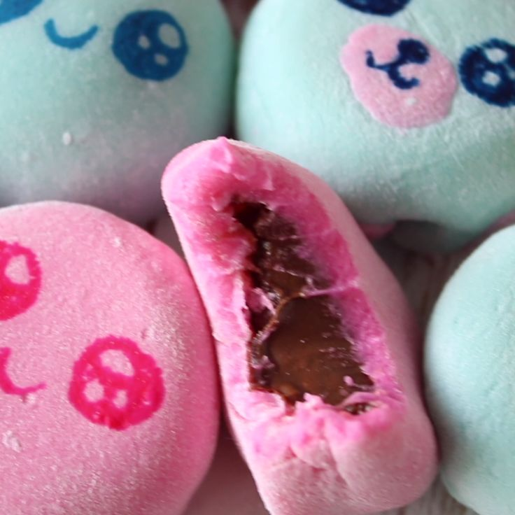 Filled with Nutella, these sticky rice treats are almost too cute to eat. Almost.