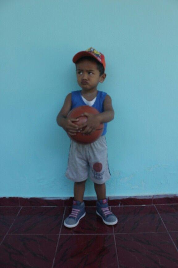 he is  the cute boy