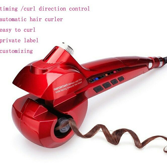 factory price ,high quality ,fast production :steam auto hair curler .