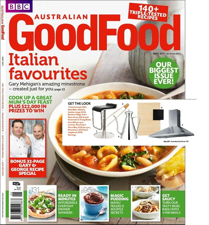 Check us out on the front cover of Good Food from May 2011! #bamboo #press #BBC