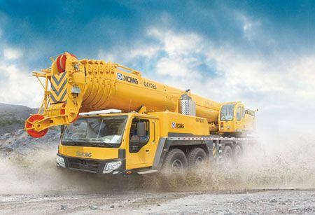 All Terrain Crane: QAY220(all-wheel-drive)  Max, rated total lifting capacity: 220t Overall length: 15850mm  For more info on this and other products visit: www.integramotors.co.za/ #IntergaGroup