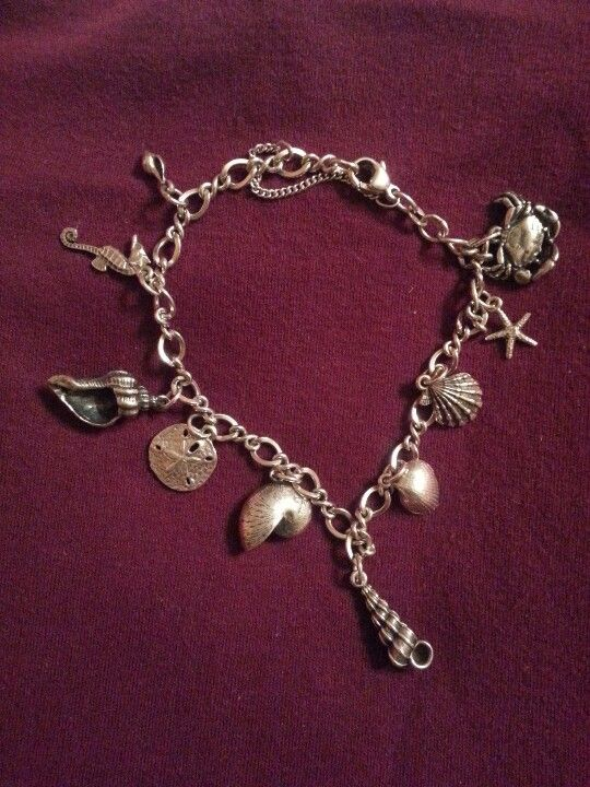 James Avery Charm Bracelet   I NEED TO FIND THE SEA SHELL NEXT TO THE STAR FISH!!! On the hunt!! -jeg