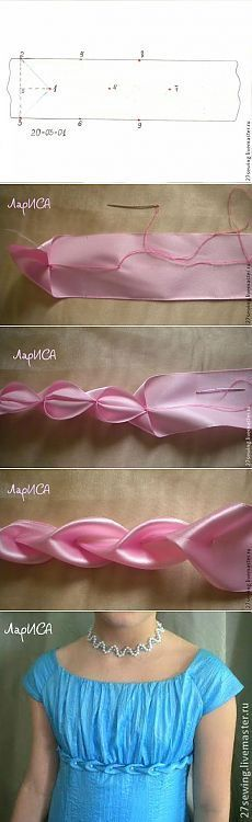 Как украсить платье буфами                                                                                                                                                                                 More