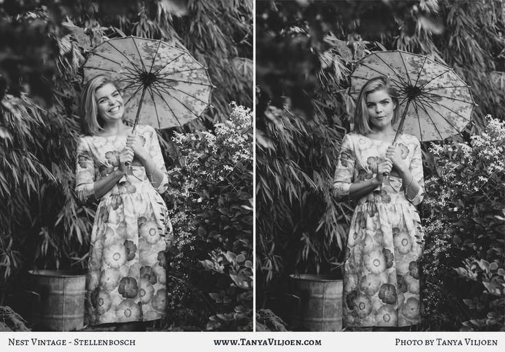 Nest Clothing linen bow dress, photography Tanya Viljoen