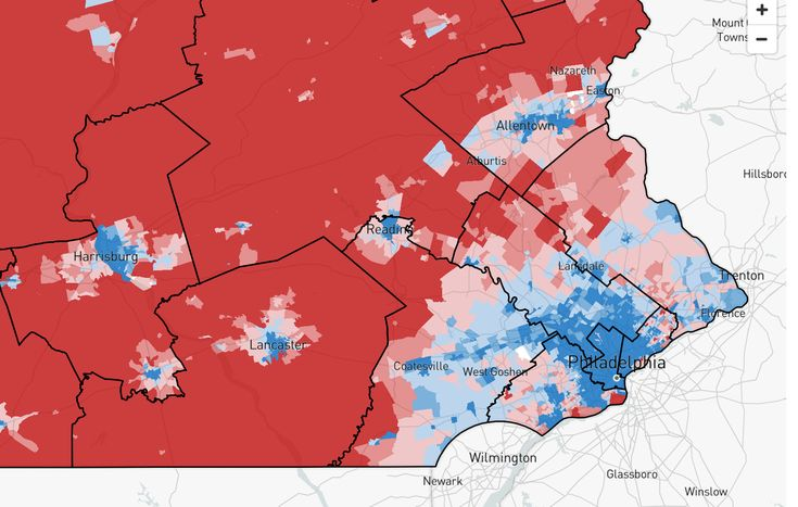 The New Pennsylvania House Districts Are In. We Review the Mapmakers Choices.