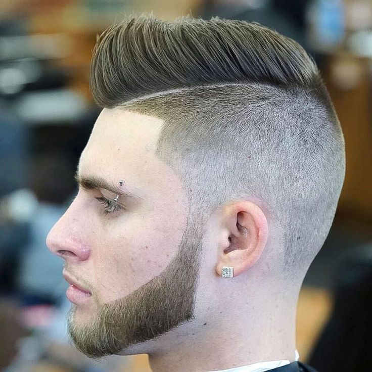 nickthebarber_and high fade short pompadour