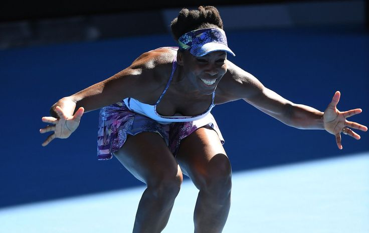 Aus Open 2017 Venus Williams beat fellow countrywoman CoCo Vandweghe, reaching a Grand Slam final eight years since her last... http://www.ladoce.com.mx/noticias/129450/finalista/ …  <3 Queen Vee!