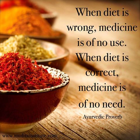 Ayurveda - Ayurvedic Diet as Medicine -Learn more: http://www.foodpyramid.com/ayurveda/ #ayurveda