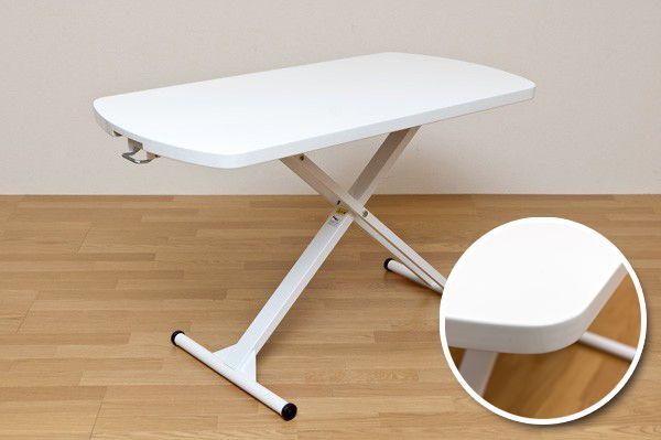 昇降テーブル 幅120cm リフトテーブル ガス圧昇降式 - aimcube画像2