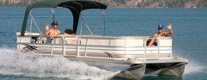 24' Pontoon Boat Rental