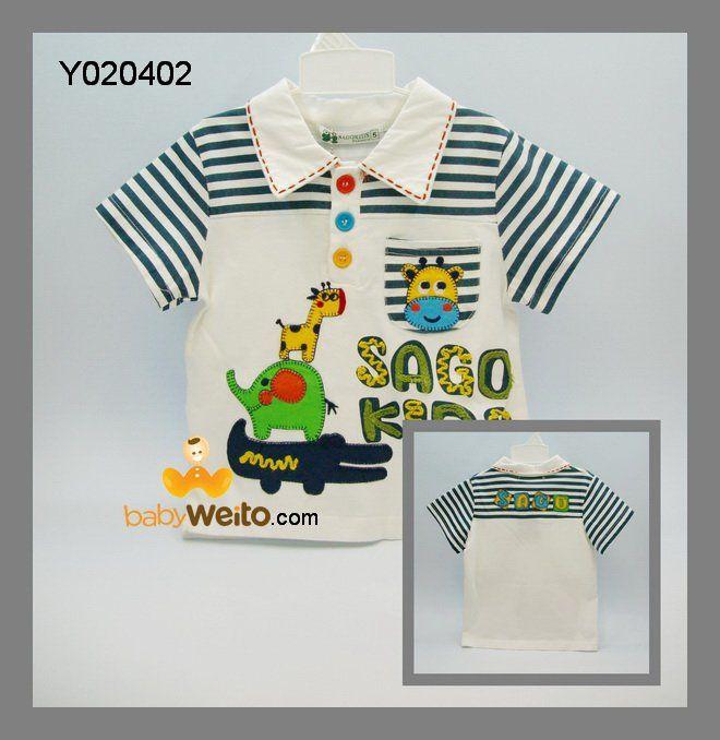 Y020402  Atasan Sago Kids Garis  Warna sesuai gambar  Ukuran > 5 : panjang 37cm , lebar dada 31cm > 9 : panjang 44cm , lebar dada 35cm > 11 : panjang 46cm , lebar dada 36cm  IDR 90*