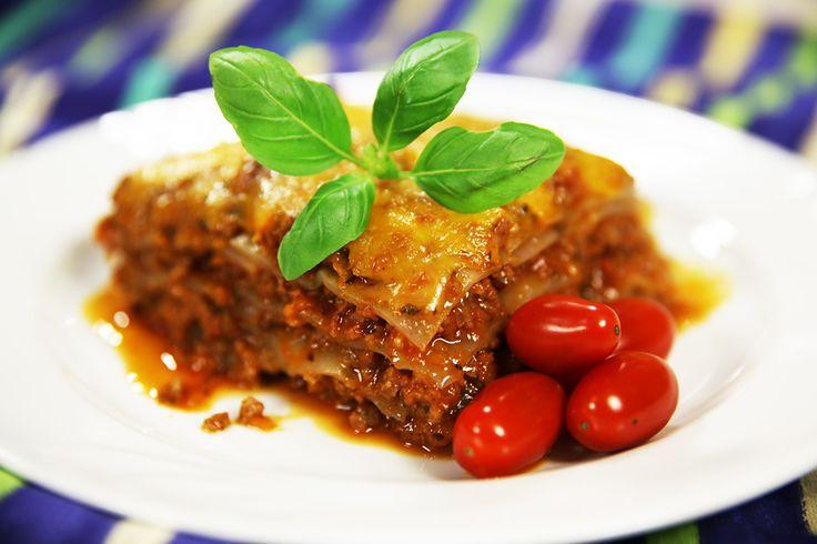 Lasagne csökkentett szénhidráttartalommal NoCarb lasagne tésztából   Klikk a képre, a recept a videóban és a leírásban található!