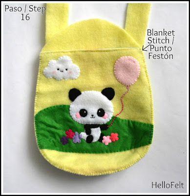 Tutorial: Panda Bag