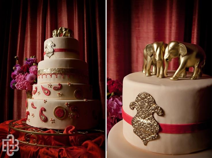 Elephant cake. #elephantcake #elephant #cake #indianwedding #indian #wedding #bollywood