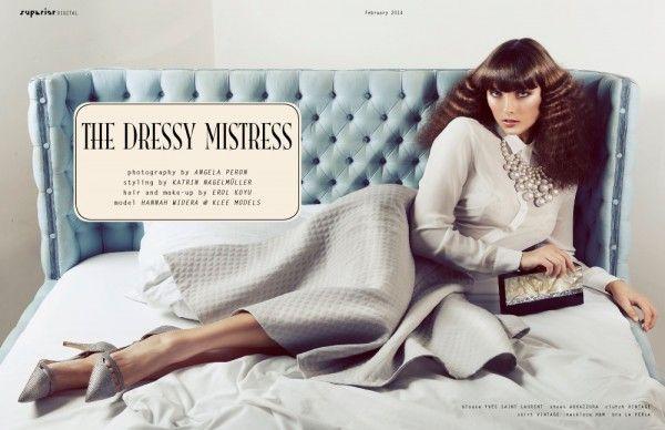 THE DRESSY MISTRESS - Fashion Editorial by ANGELA PERON