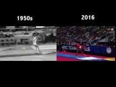 オリンピックの体操競技昔と今のを比較してみると全然違うんだね 84年の森末慎二さんのときウルトラCとかいって金メダルですごいって思ったけど今はFとかGとかHとか 昔から比べると尋常じゃない進化を遂げた体操競技 リオオリンピックも終わってひと段落 つぎはパラリンピックだね tags[海外]