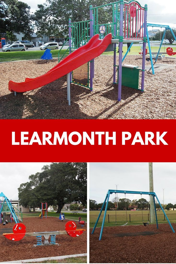 It's not a huge park but Learmonth Park Playground in Hamilton South is a lovely little neighbourhood park.
