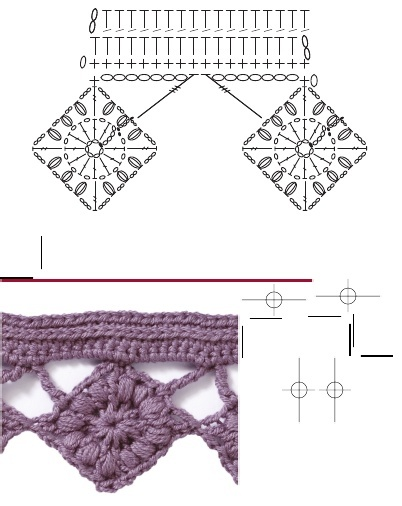 French square edging