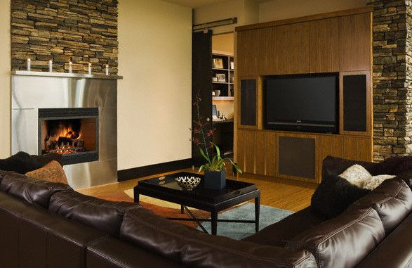 Be Able To Appreciate And View The Fireplace And