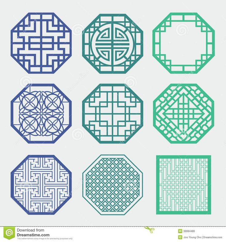 Traditional Korean Patterns Symbols Korean Traditional Pattern is