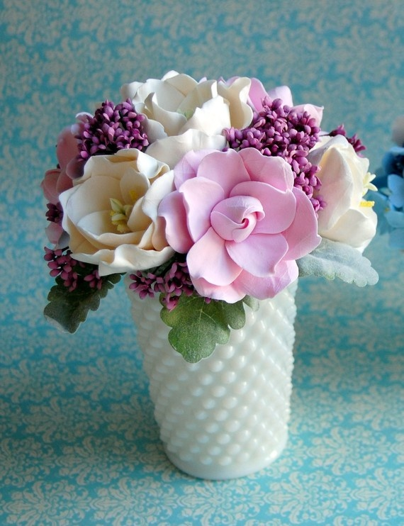 give me that cup. I love milk glass. It is timeless and sturdy