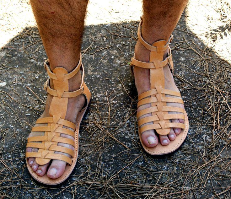 ADONIS men leather sandals/ men Greek leather sandals/ Gladiator sandals/ mens ancient grecian sandals/men roman sandals/ men strappy sandal de Leatheropolis en Etsy https://www.etsy.com/mx/listing/522761227/adonis-men-leather-sandals-men-greek