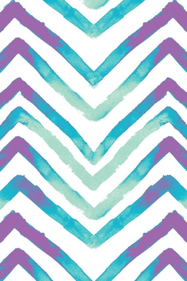 Purple and blue chevron wallpapers pinterest blue for Blue chevron wallpaper