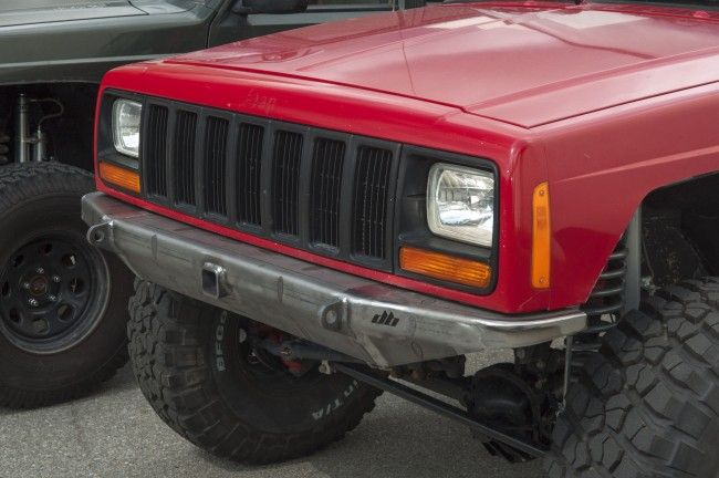Mojave Front Bumper Jeep Cherokee Xj With Images Jeep Xj