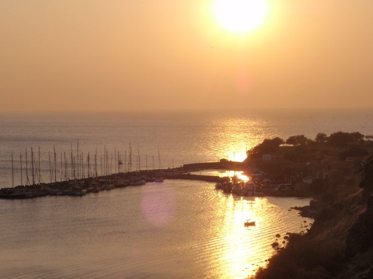 Sunset.....from #Villa 3Molova #Molyvos, #Μήθυμνα, #Lesvos, #Greece