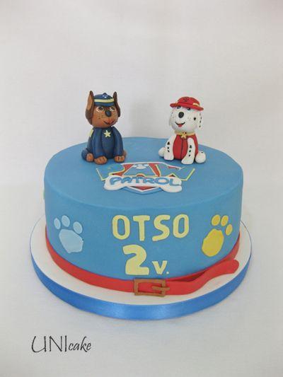 C222. Ryhmä Hau -kakku. Paw Patrol cake
