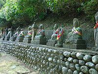 Chokeji Temple and the 500 arhats, Toyama.