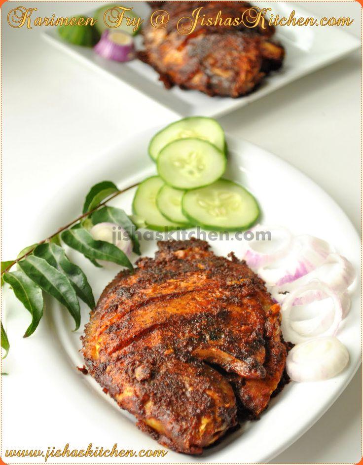 ! Jisha's Kitchen !: Karimeen Fry - Indian Recipes, Kerala Nadan Recipes, Kuttanadan Recipes