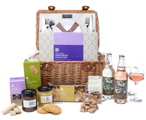 National Trust - A day in the orchard picnic hamper
