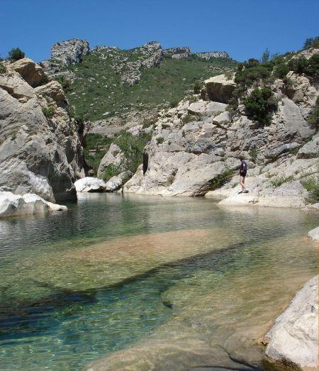 Gorge de Padern, Aude, France.