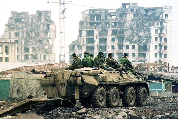 an analysis of collateral damages in the russian chechen conflict