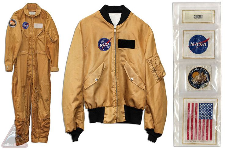 NASA Flight Suit, Flight Jacket and 'Beta-Cloth' patches ...