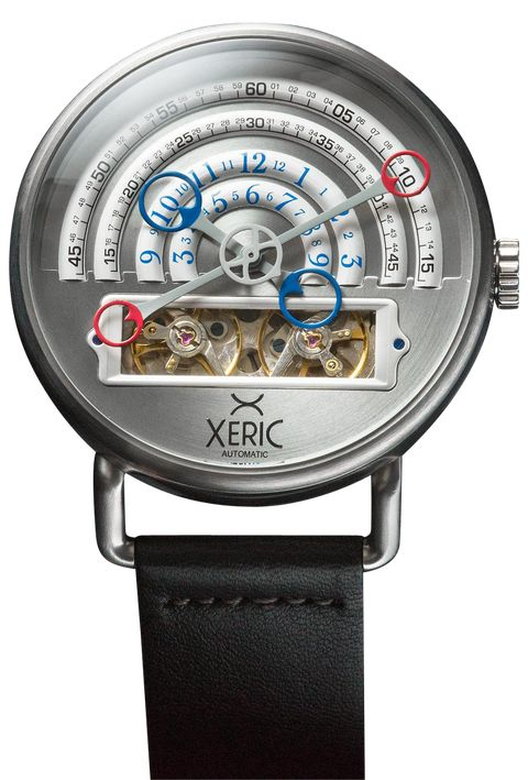 Xeric Halograph Silver Automatic Watch