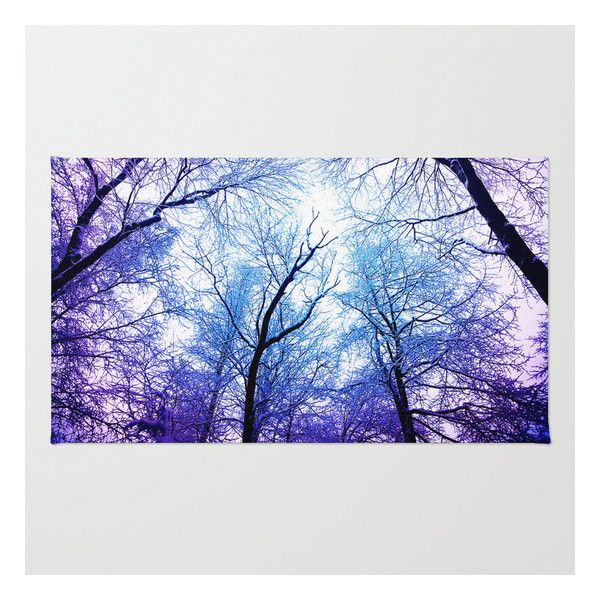 Snow Angel's View - Nature's Painting Rug ($28) ❤ liked on Polyvore featuring home, rugs, backgrounds, landscape, pictures, machine washable rugs, woven area rugs, chevron area rug, woven rug and non skid rugs